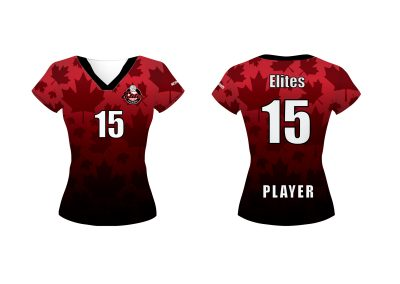 Red Jersey Girls ELITES 2018V2